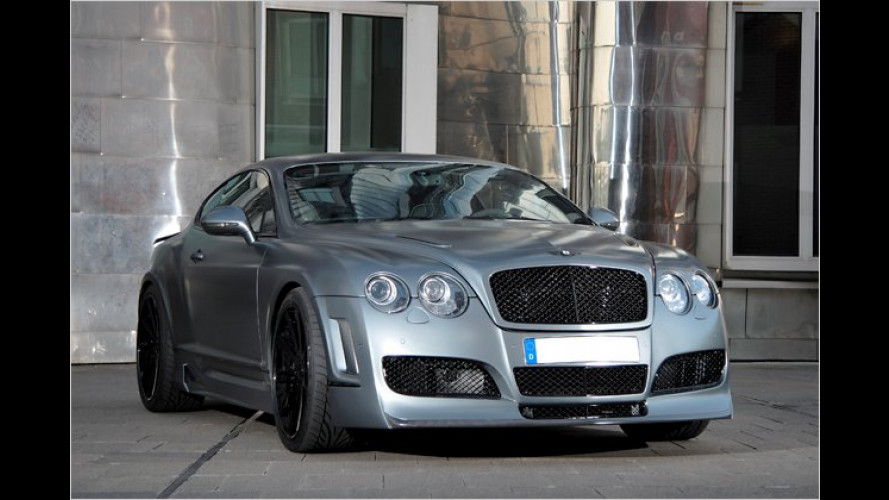 Fast 700 PS im Bentley