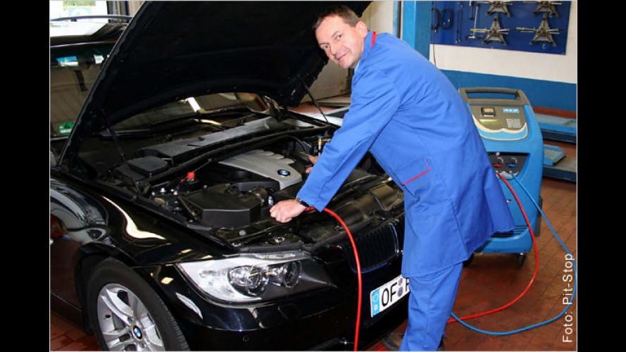 Sprit und Geld sparen mit einer Inspektion der Klimaanlage