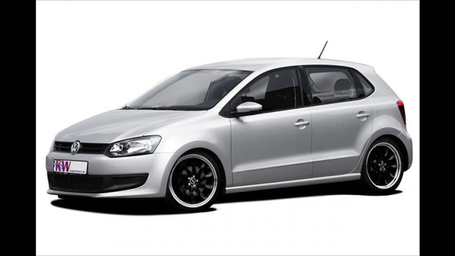 Gewindefahrwerke von KW Automotive für den neuen Polo