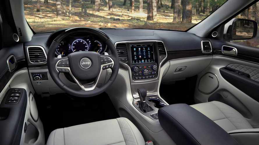 2017 Jeep Grand Cherokee restylage