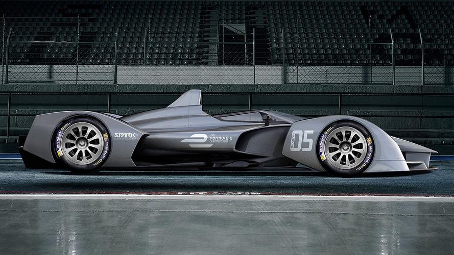 Spark dévoile son concept pour la monoplace de Formule E 2018