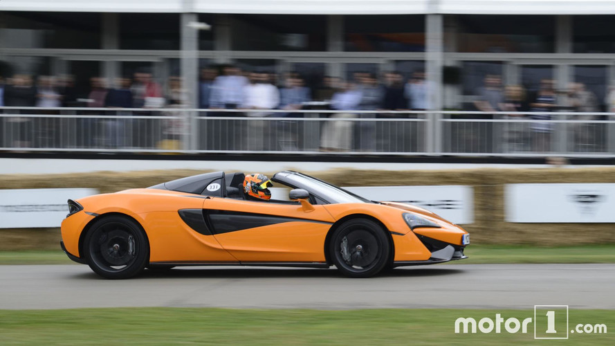 2017 - McLaren 570 S Spider à Goodwood