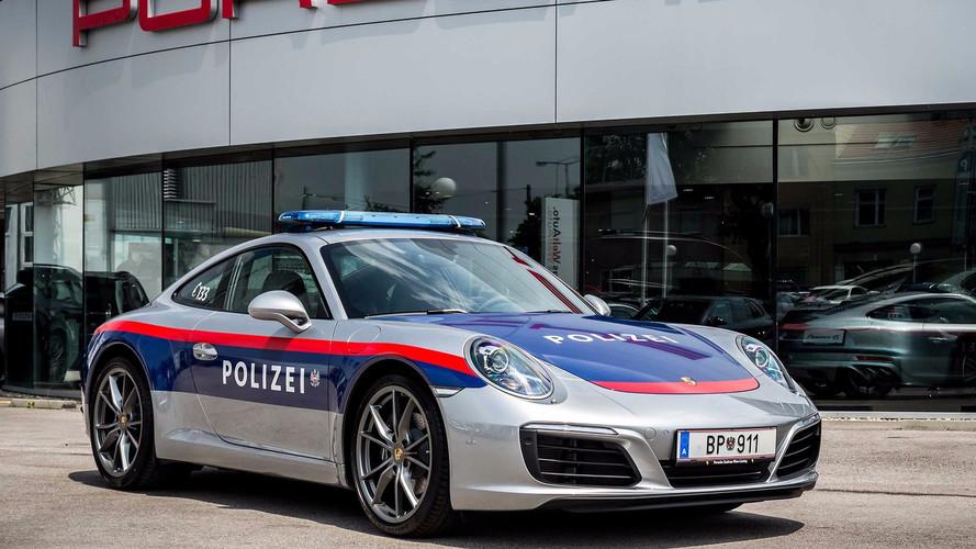 911-es Porschével gyarapodott az osztrák rendőrség flottája