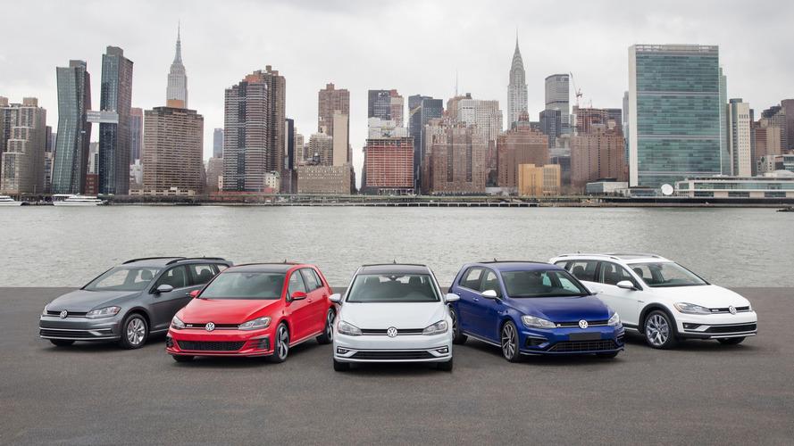 Volkswagen Golf 2018 - Família reestilizada estará no Salão de Nova York