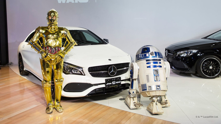Mercedes Turns To Dark Side For Star Wars Edition CLA180
