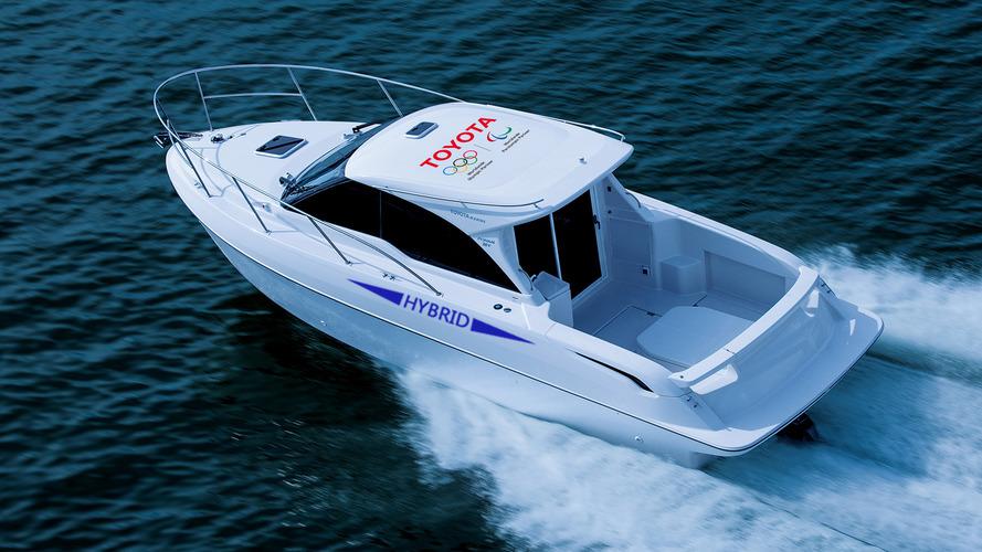 Voici le bateau hybride signé Toyota