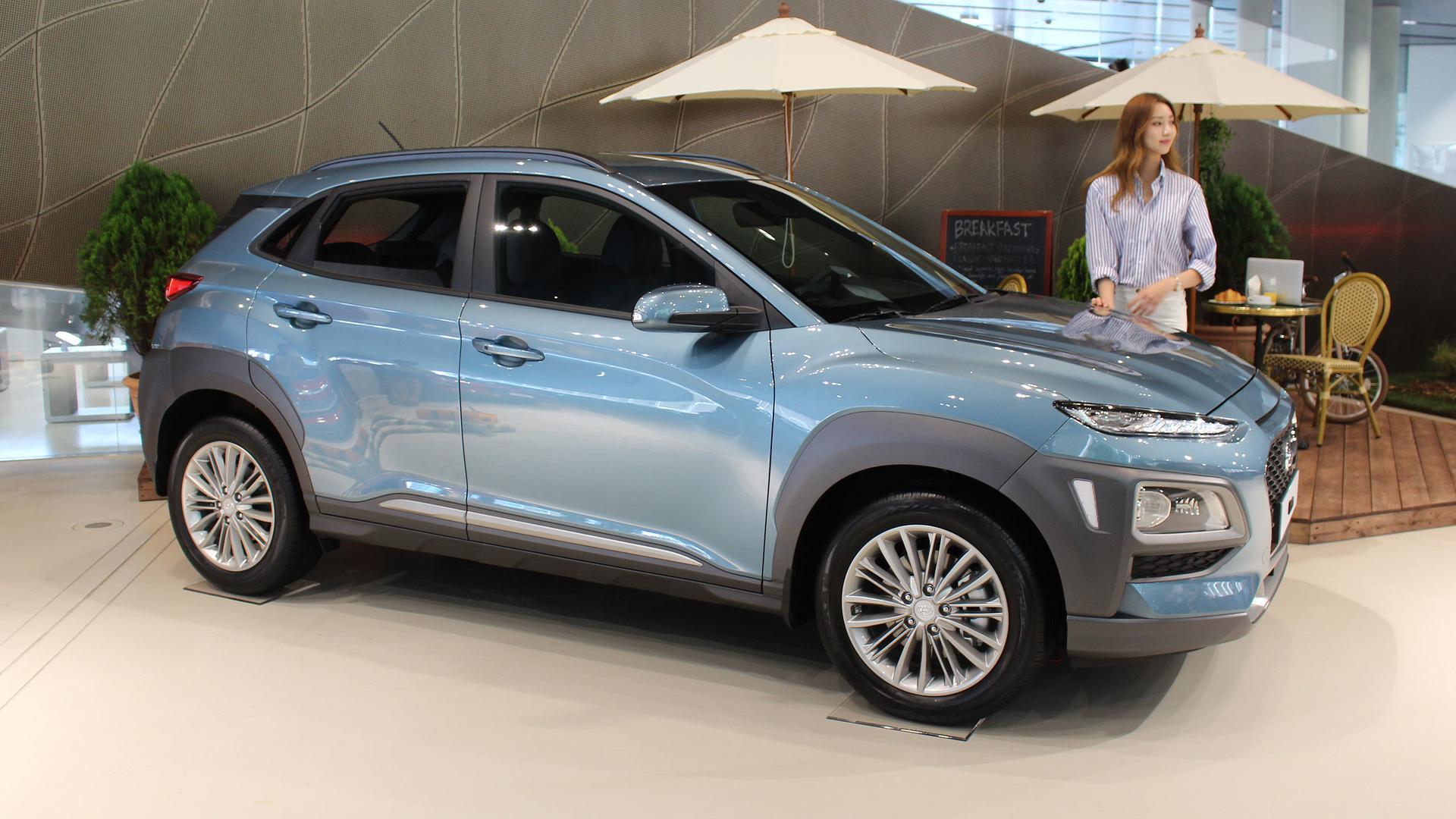 Unveiled 2017 Hyundai Kona