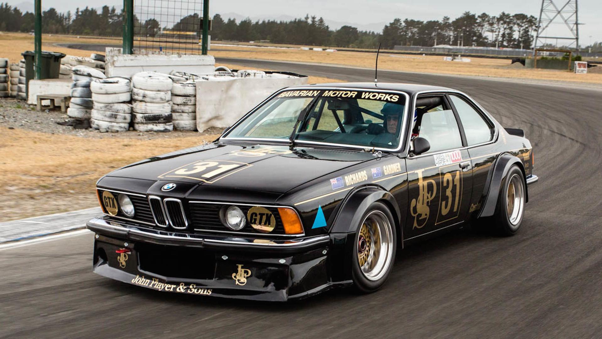 Legendary BMW 635 CSi Black Beauty Returns To The Track
