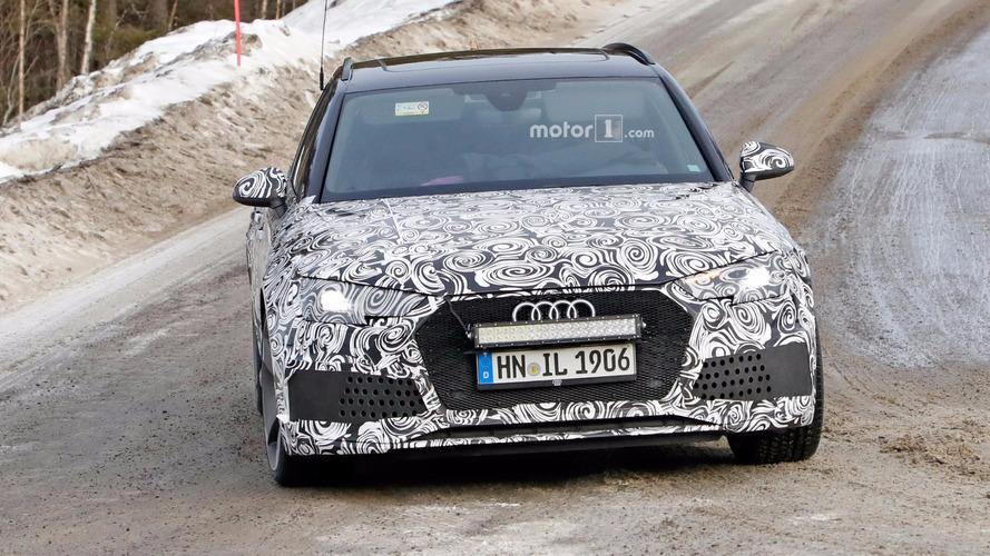 Audi RS4 Avant Spy Shots