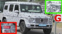 Mercedes-Benz G-Serisi casus videosu