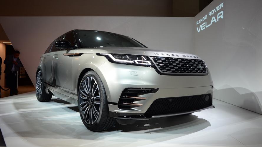 Range Rover Velar - Veja fotos ao vivo do novo SUV coupé da marca inglesa