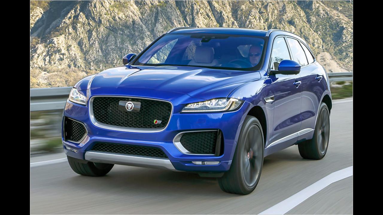 Die Wachstumsmarken, Platz 1: Jaguar