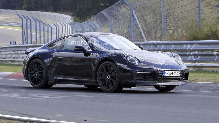 Is This Spied 2019 Porsche 911 A Hybrid? [24 Photos]