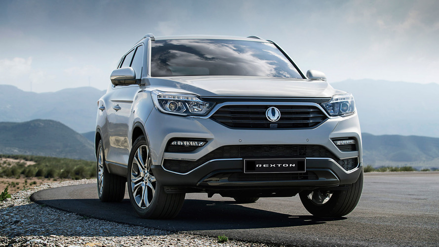 2018 SsangYong Rexton Offical Images Revealed