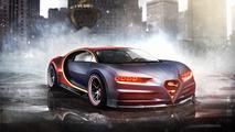 Superman - Bugatti Chiron