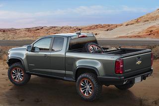 Chevrolet Needs to Make the Colorado ZR2 Concept a Reality