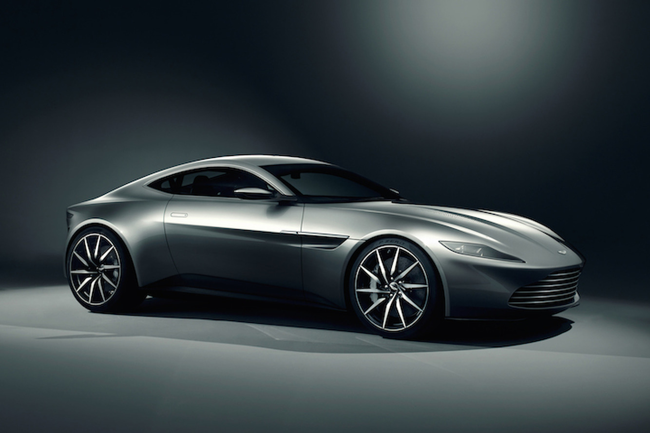 James Bond Gets a Sleek New Aston Martin for 'Spectre'