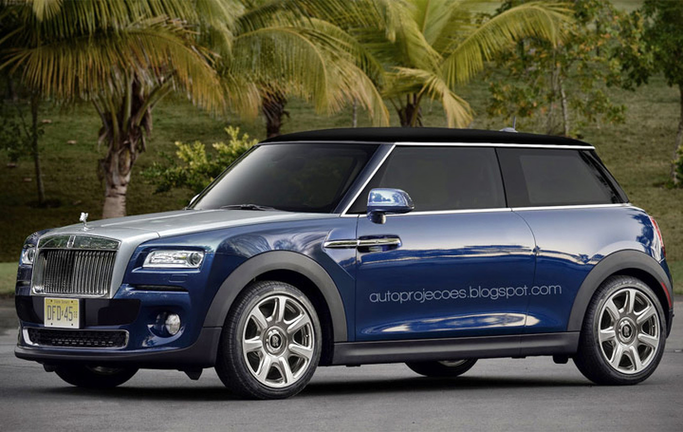 Does the World Need a Mini Rolls-Royce?