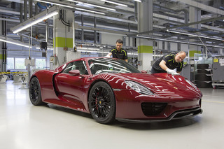 Porsche Just Built the Last Ever 918 Hypercar