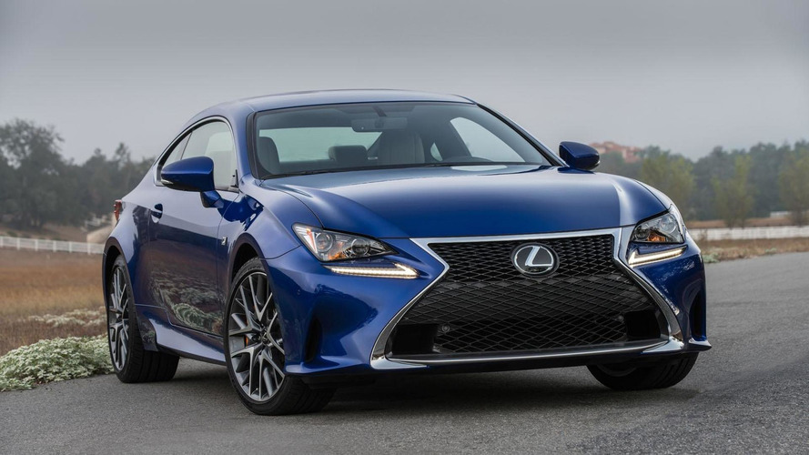 2016 Lexus RC Coupe unveiled with a new turbocharged engine [video]