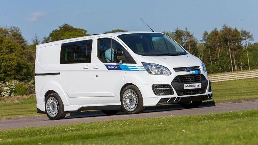 WRC inspired Ford Transit by M-Sport revealed