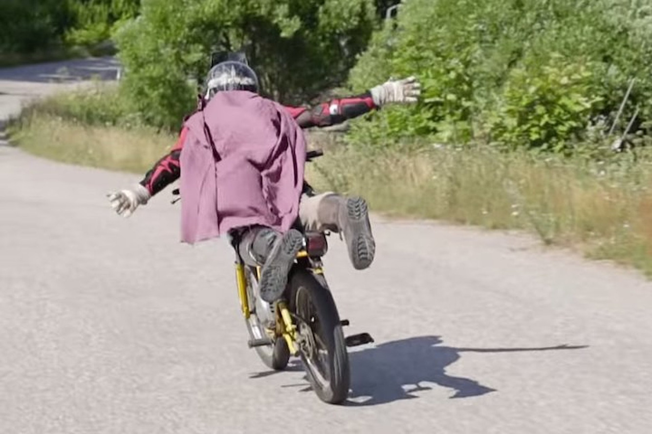 Moped-Wielding Tigerman is the Hero Finland Deserves [Video]