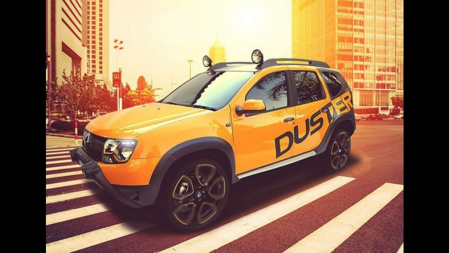 Renault Duster Detour Concept é revelado por inteiro