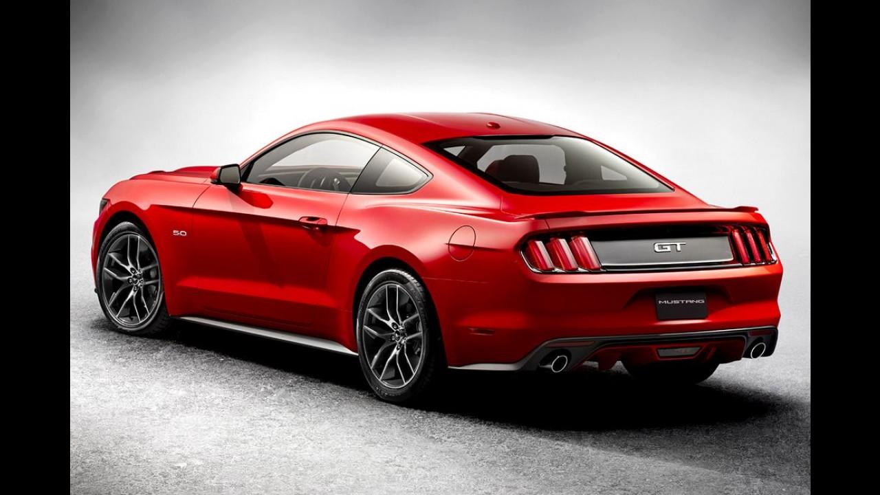 Ford não divulga, mas novo Mustang ficou até 136 kg mais pesado