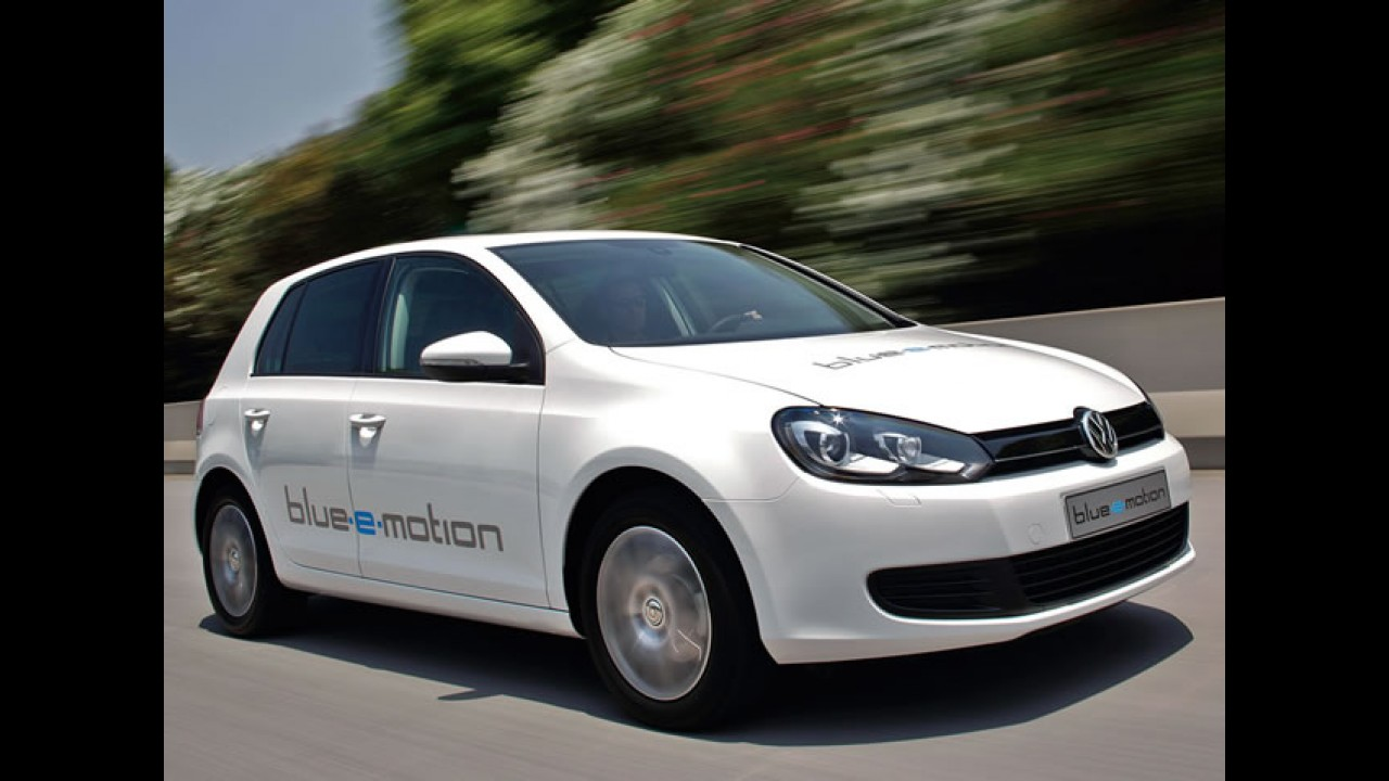 Elétrico: Volkswagen confirma lançamento do Golf EV para o final de 2013