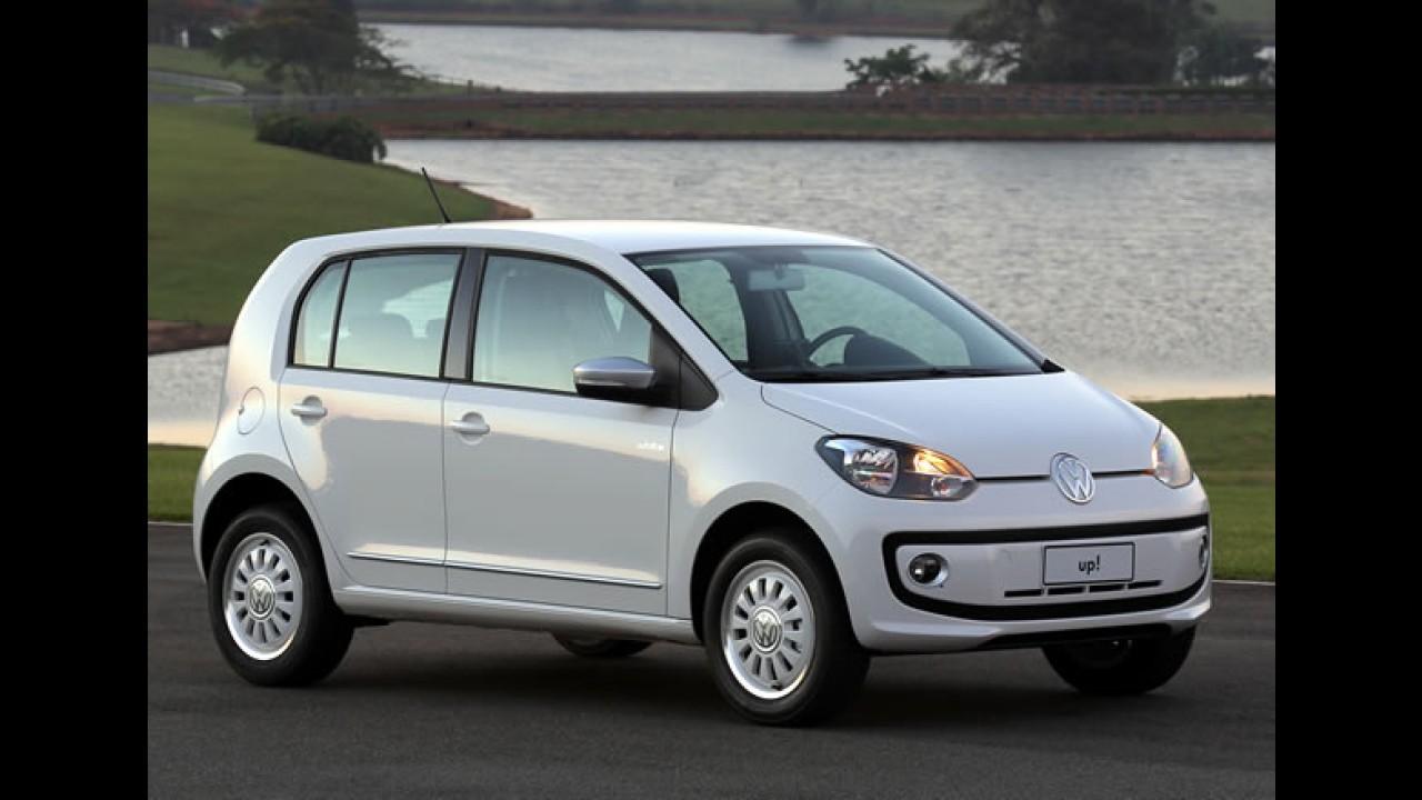 Volkswagen Up! brasileiro alcança cinco estrelas no Latin NCAP