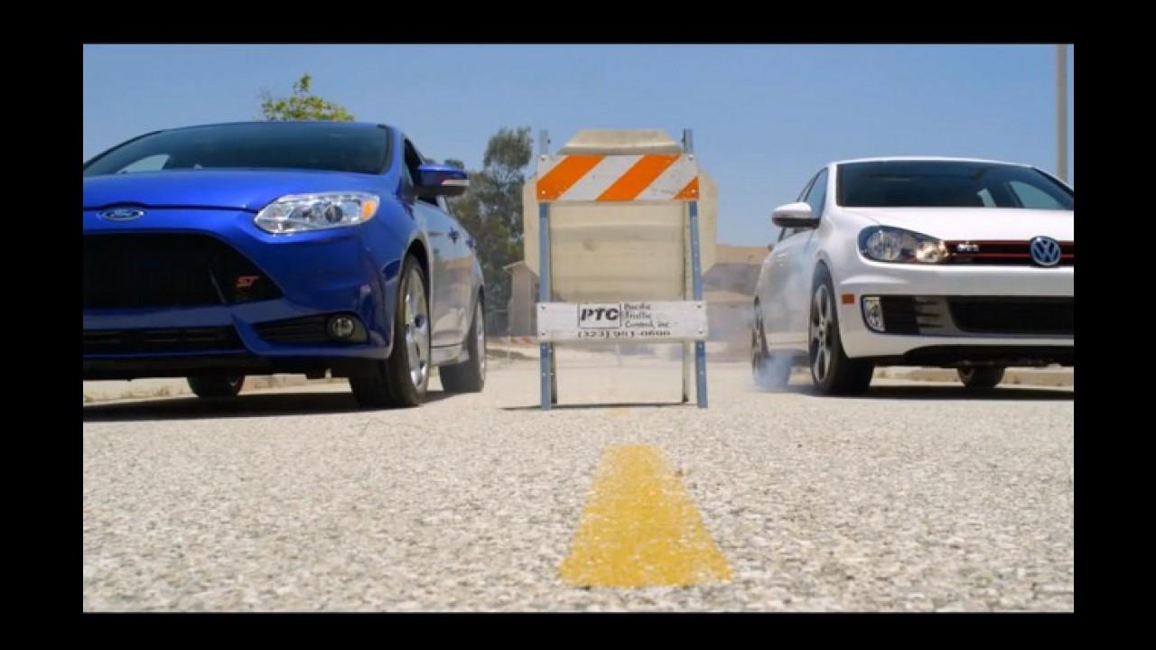 Vídeo: Focus ST chama Golf GTi para a briga em comercial da Ford