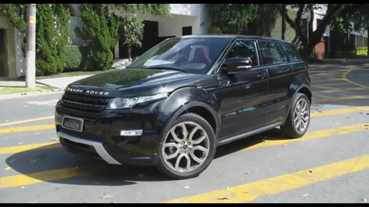 Vídeo HD: Bellote avalia o Range Rover Evoque Dynamic Tech Pack