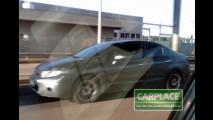 Novo Honda Civic 2012 é flagrado no Brasil