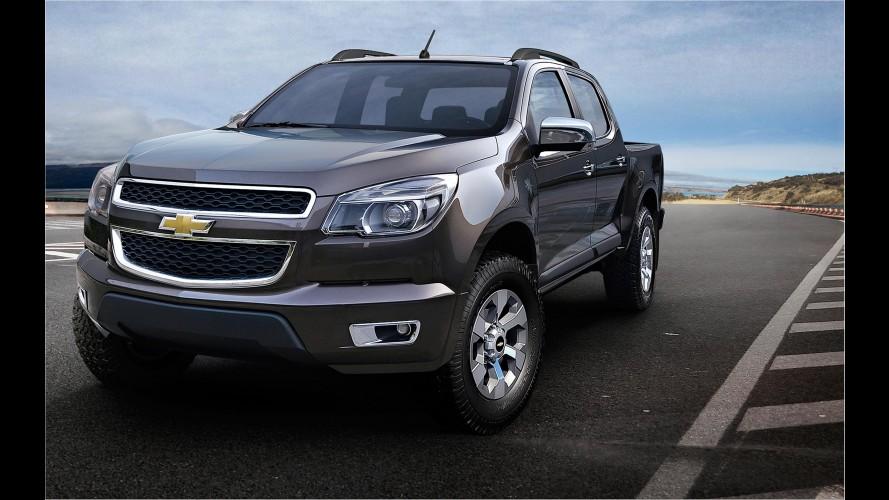 Nova Chevrolet Colorado 2012 será oficialmente lançada no Brasil em janeiro