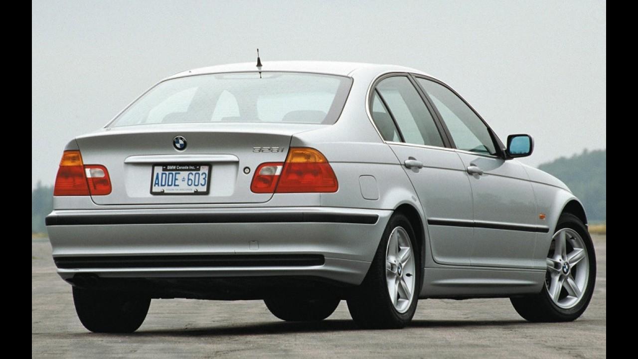 BMW: falha no airbag motiva recall de 1,6 milhão de Série 3 entre 1999 e 2006