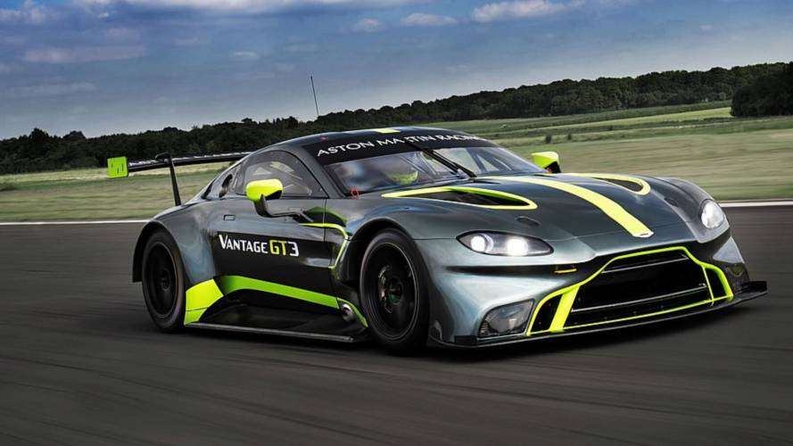 Aston Martin Vantage GT3 And GT4 Revealed For Le Mans