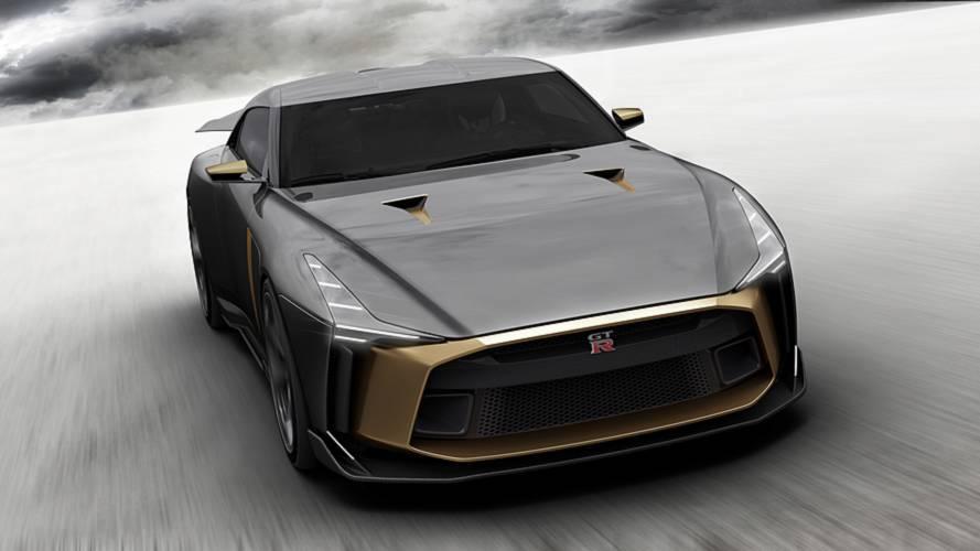 Nissan GTR-50 by Italdesign | Motor1.com Photos