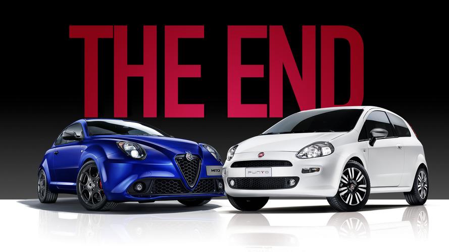 Addio Fiat Punto e Alfa Romeo MiTo: è la fine di un'era