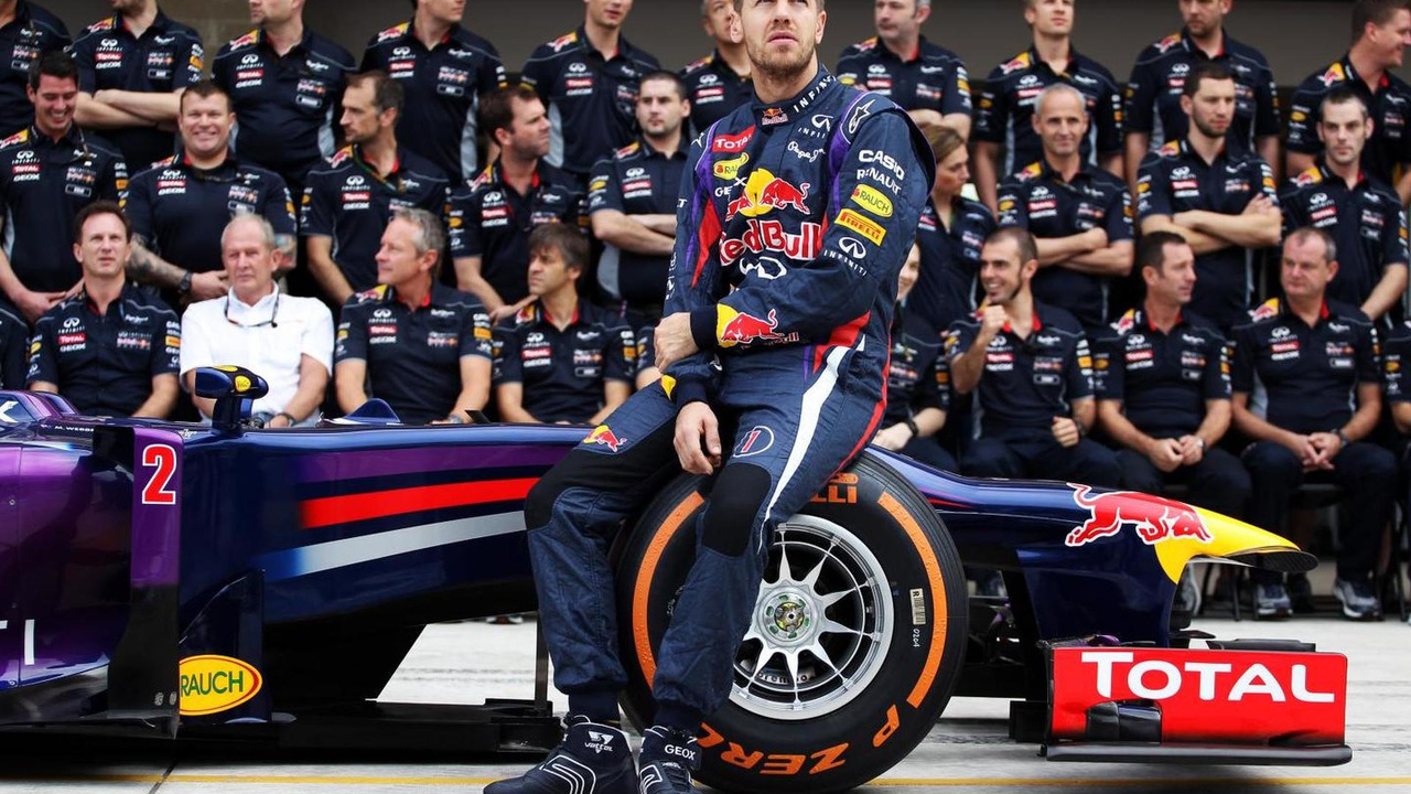 Sebastian Vettel with team 17.11.2013 United States Grand Prix