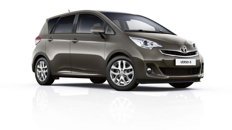 2015 Toyota Verso-S facelift revealed