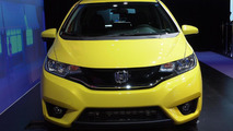 2015 Honda Fit (US-spec) live at 2014 NAIAS