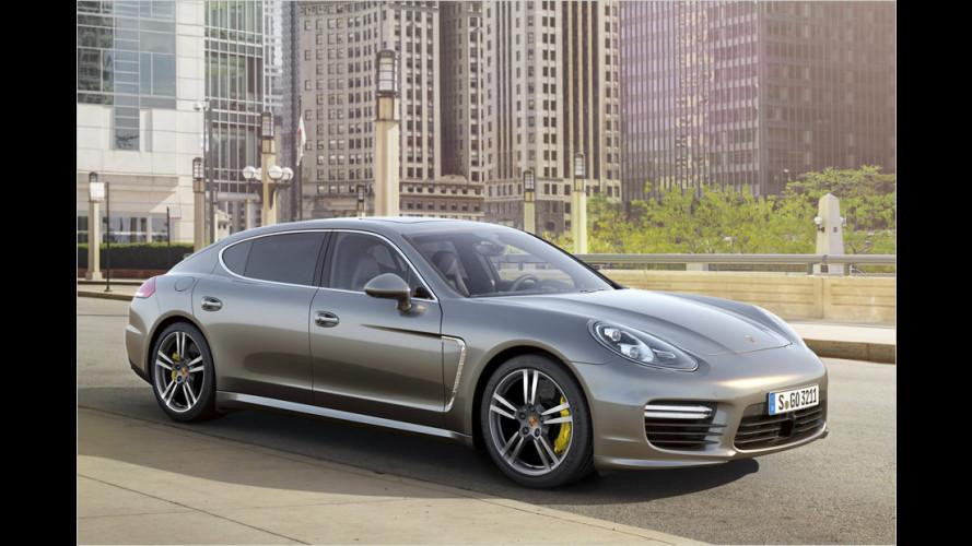 Porsche Panamera Turbo S kommt mächtig gewaltig