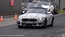 2018 BMW Z4 screenshot from spy video