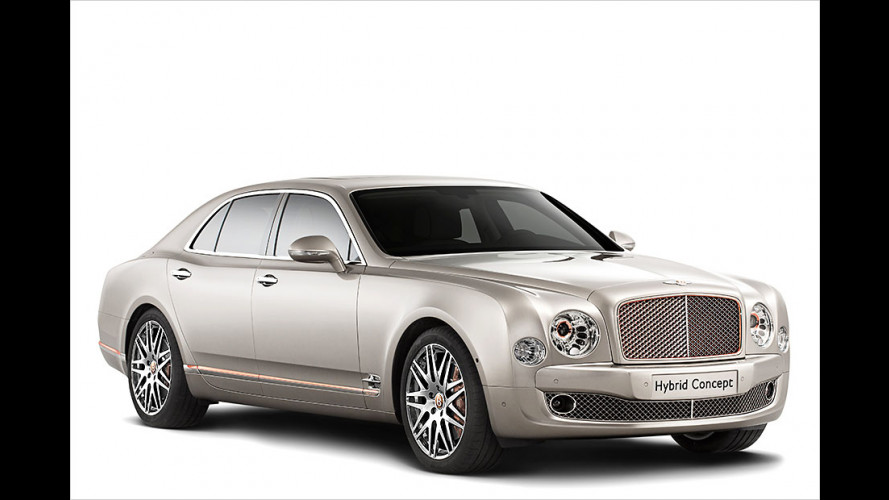 Bentley: Auch mit Stecker