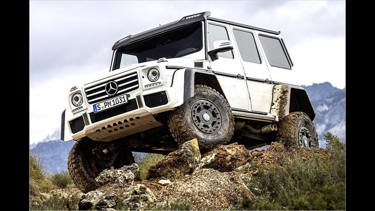 Mercedes G 500 4x4 hoch2