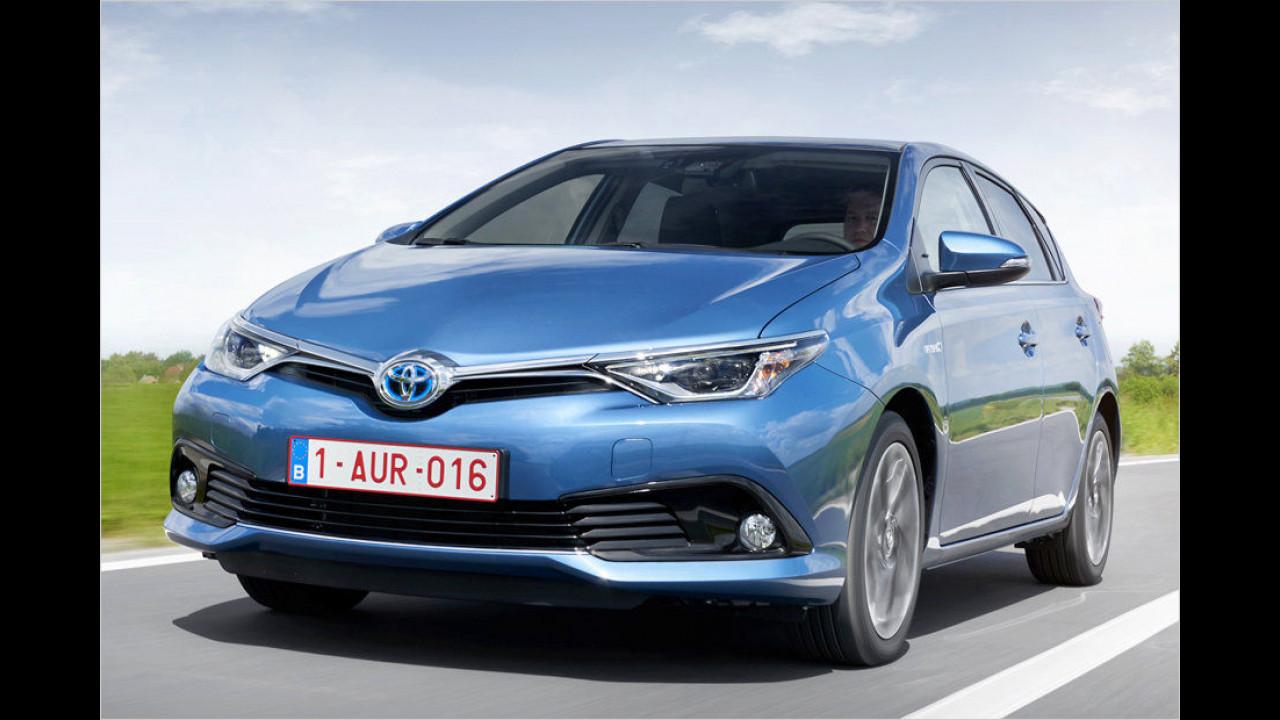 Platz 13: Toyota Auris