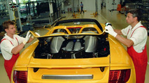 Porsche Carrera GT Production