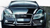 2008 Audi S5 design sketch