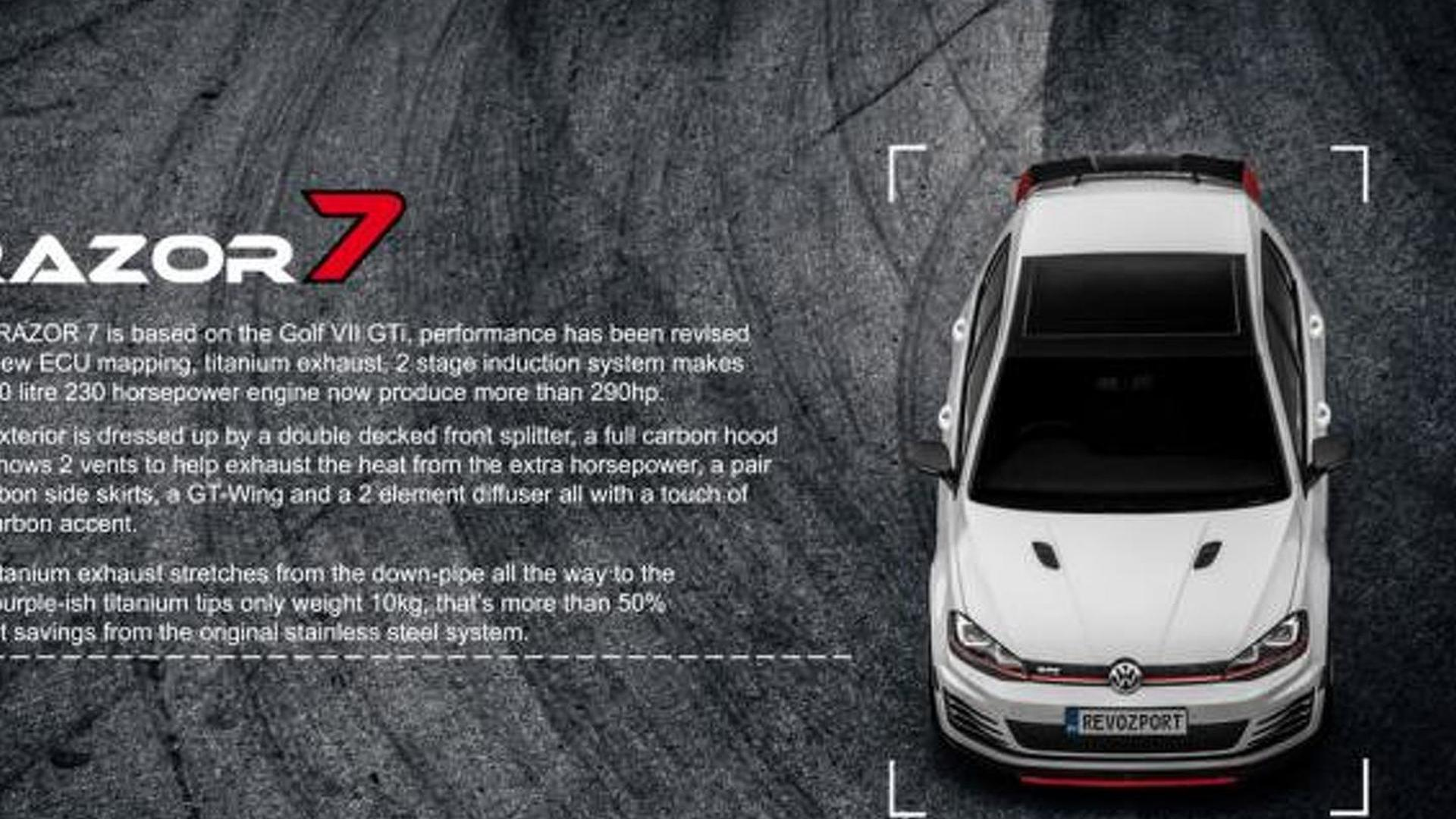 Боди-кит Volkswagen Golf GTI от RevoZport
