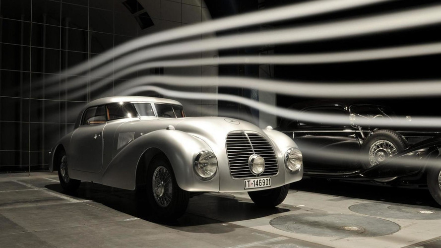 Mercedes highlights their 1938 540 K Streamliner